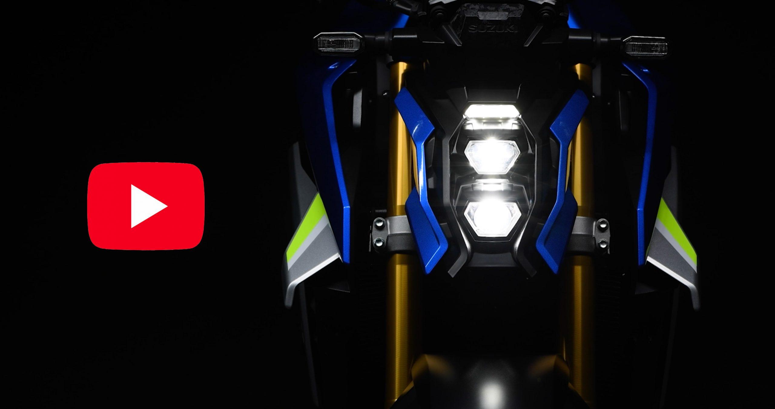 2022 Suzuki GSX-S1000 video
