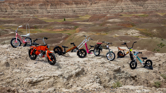 210401 7 Strider Custom Bikes in the Badlands of South Dakota (678)