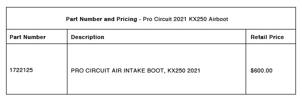 210405 Pro Circuit 2021 KX250 Airboot - Part-Number-Pricing-R-1