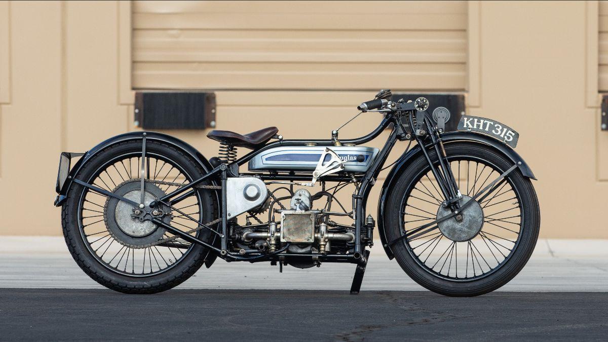 210415 1929 Douglas SW5 Speed Model (Lot F142) - Mecum Vegas Auction