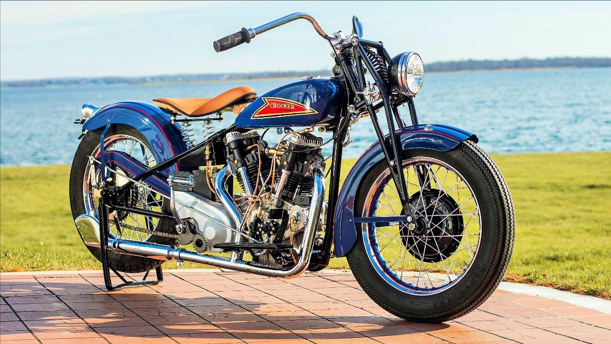 210415 1940 Crocker Big Twin (Lot F150) - Mecum Vegas Auction