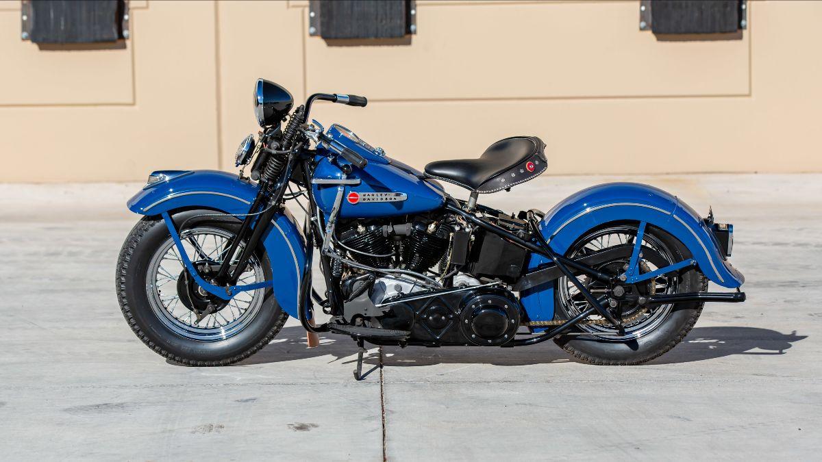 210415 1947 Harley-Davidson FL (Lot S115) - Mecum Vegas Auction