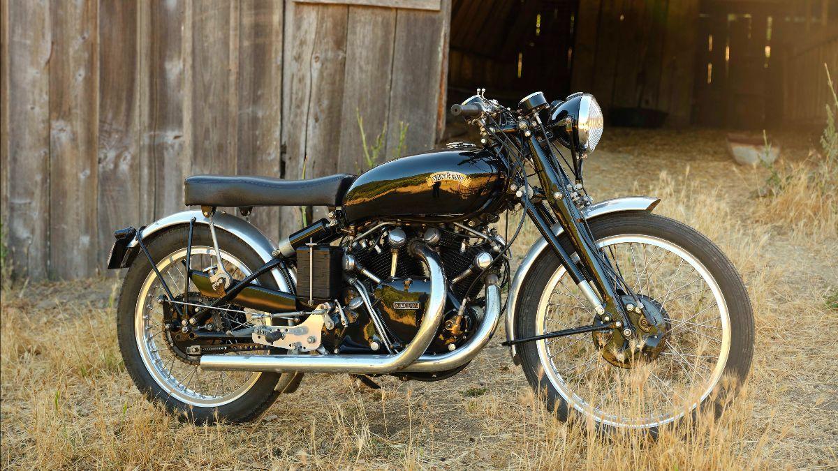 210415 1950 Vincent Black Lightning (Lot S136) - Mecum Vegas Auction