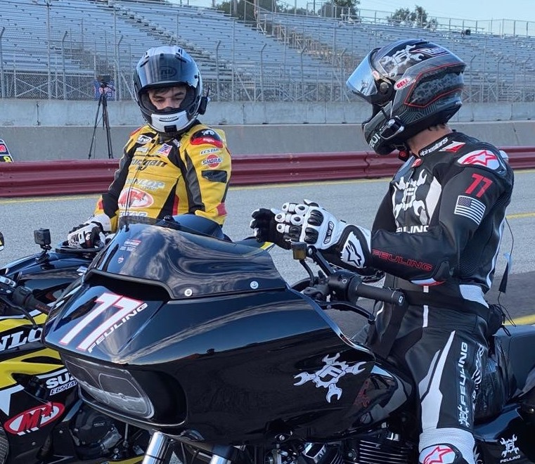 210415 Chris Ulrich and Ben Bostrom talked us through a lap of WeatherTech Raceway Laguna Seca