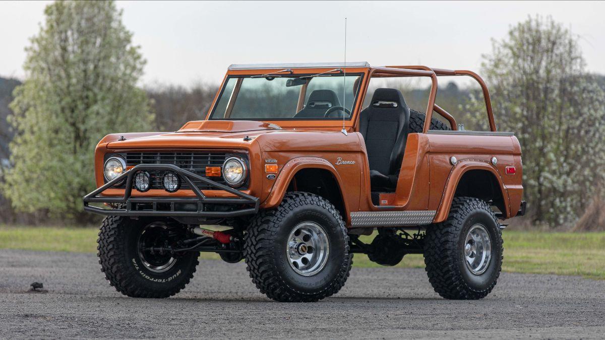 210420 1971 Ford Bronco 302 CI, Automatic (Lot S102) - Mecum Tulsa