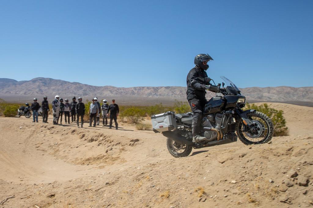 210429 Zakar's professionally built terrain park allows for product testing and demos
