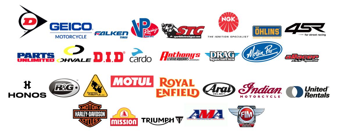 210430 2021 MotoAmerica Series partner logos