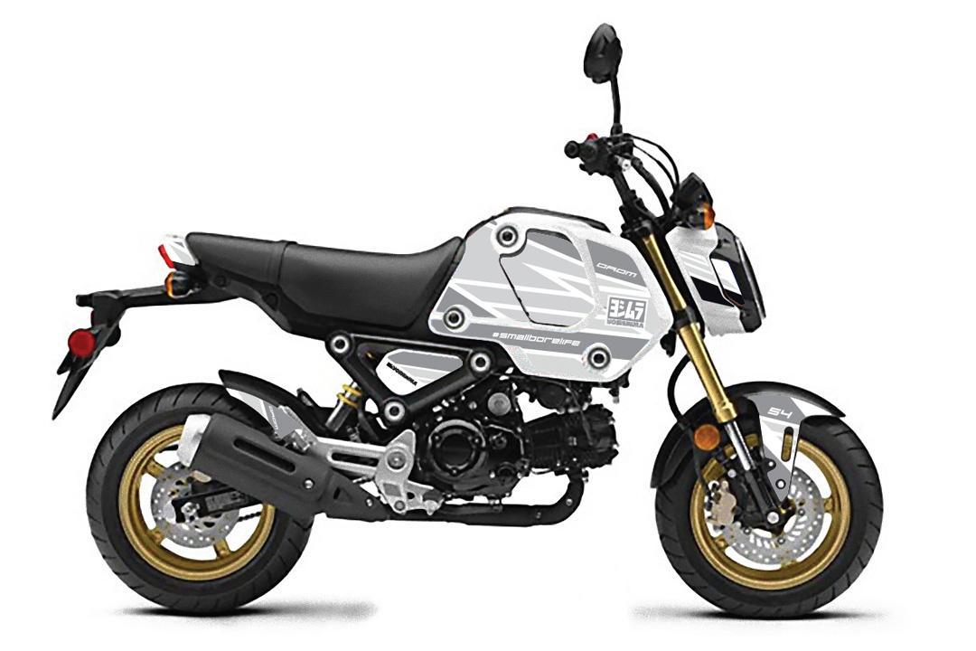 210430 2022 Grom Yoshimura Graphics Kit - White Edge