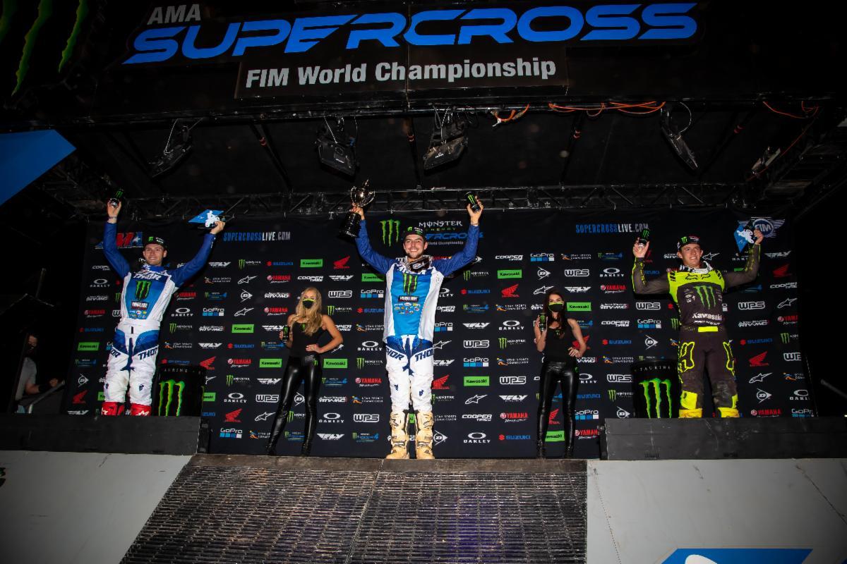 250SX Class podium - Atlanta 3
