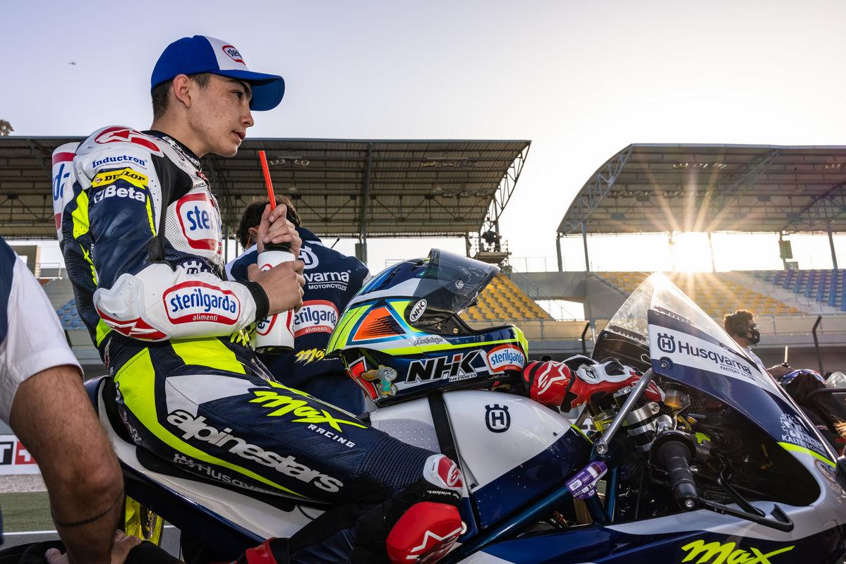 Adrian Fernandez Moto3 2021 Qatar 2