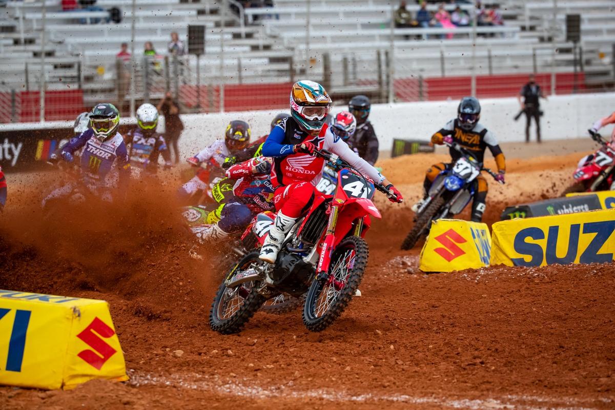 Hunter Lawrence - Atlanta 3 Supercross