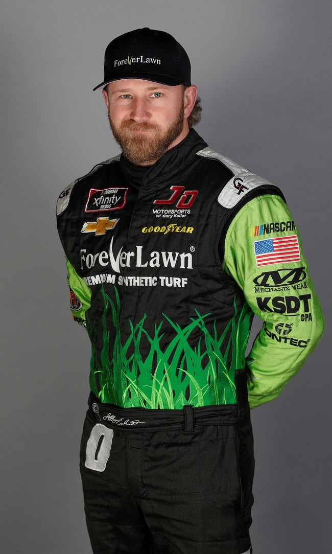 Jeffrey Earnhardt - Grandson of legendary race car driver Dale Earnhardt