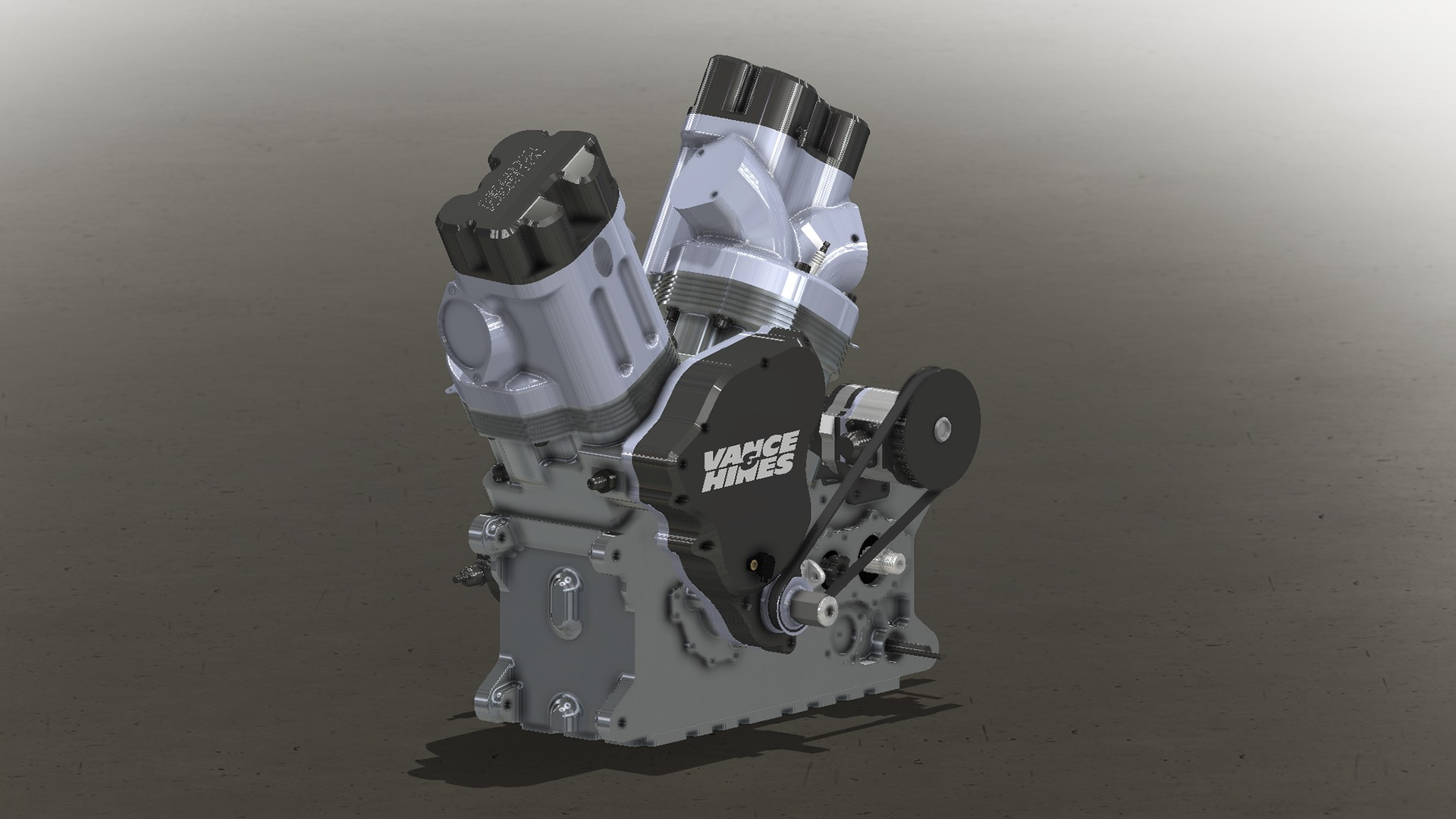 Vance & Hines Launches New V-Twin for NHRA Motorcycle Racing (1)