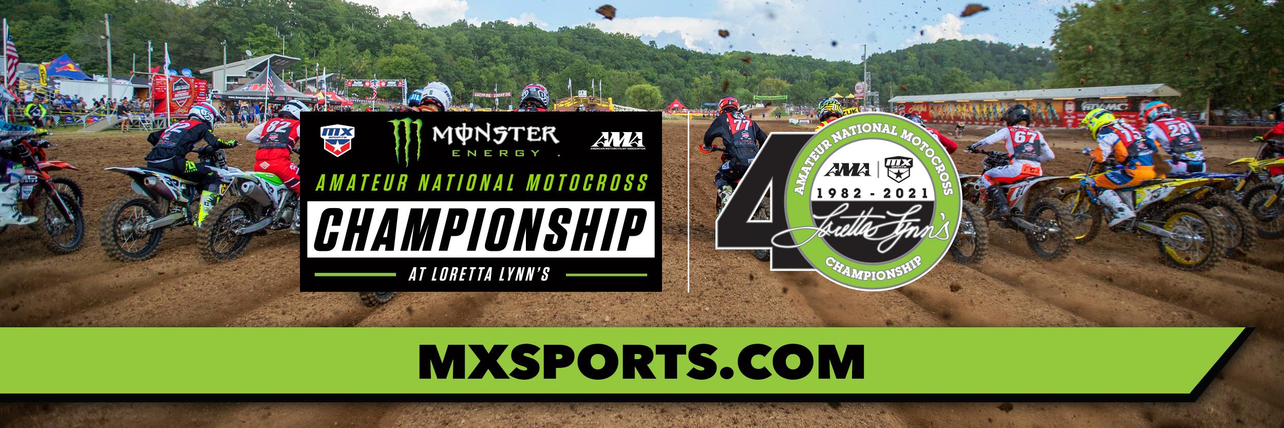 2021 Amateur National Motocross Championship banner