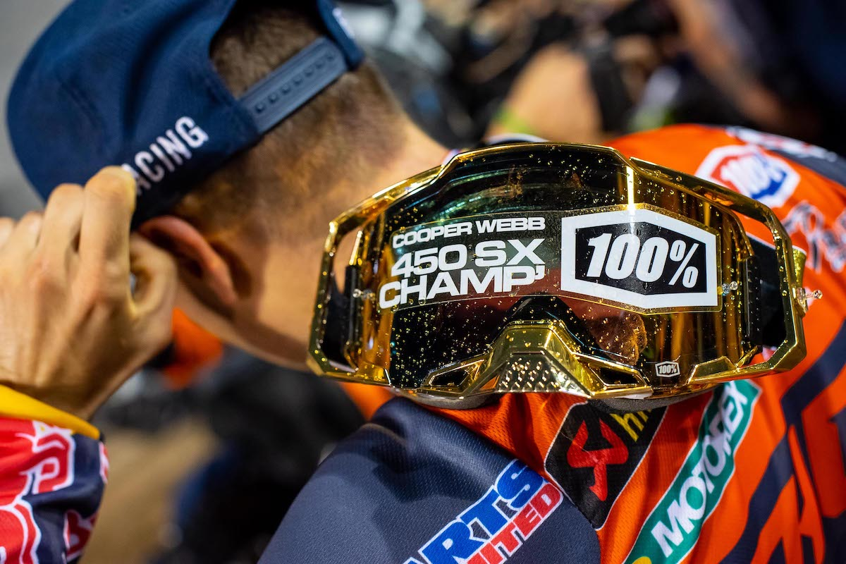 210504 Cooper Webb emphatically captured his second 450SX Class title