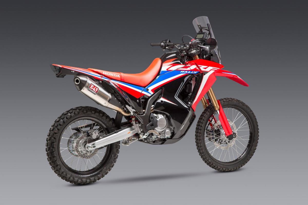 Our RS-4 makes the CRF300 come alive and is just what this new dual sport needs
