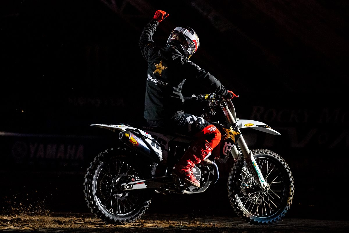 Zach Osborne - Rockstar Eenergy Husqvarna Factory Racing