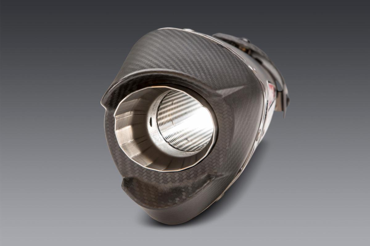 210526 Our aggressively styled matte finish carbon fiber end cap
