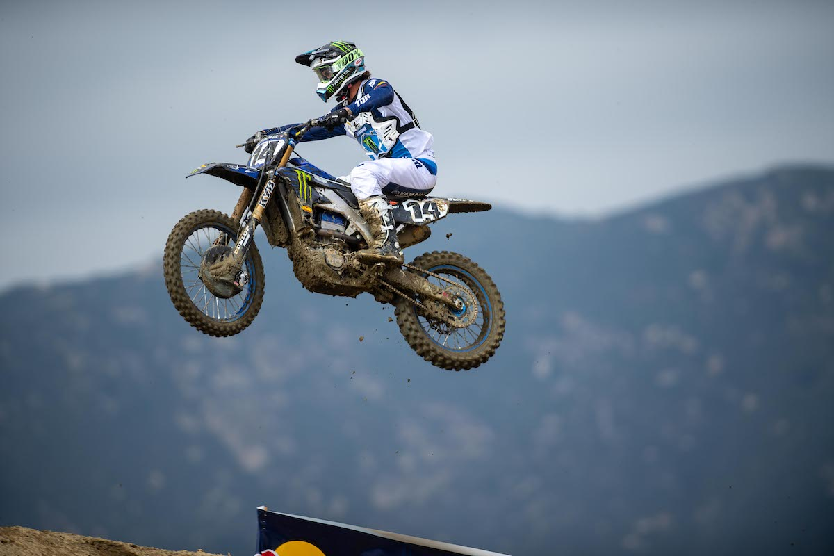 210530 Dylan Ferrandis kicked off his 450 Class career with a surprise victory