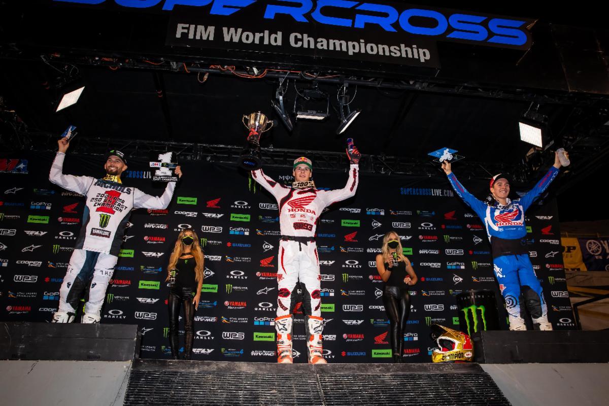 250SX Class podium - Salt Lake City