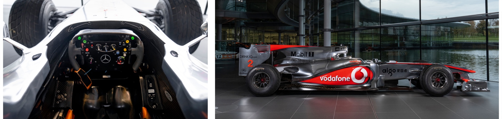 First Ever Lewis Hamilton Formula 1® Race Winning car to be Auctioned Live by RM Sotheby's 2