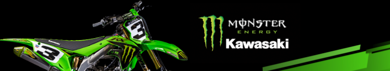 Monster Energy Kawasaki - Eli Tomac - banner