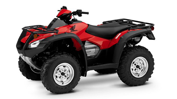 2022 Honda FourTrax Rincon_Red