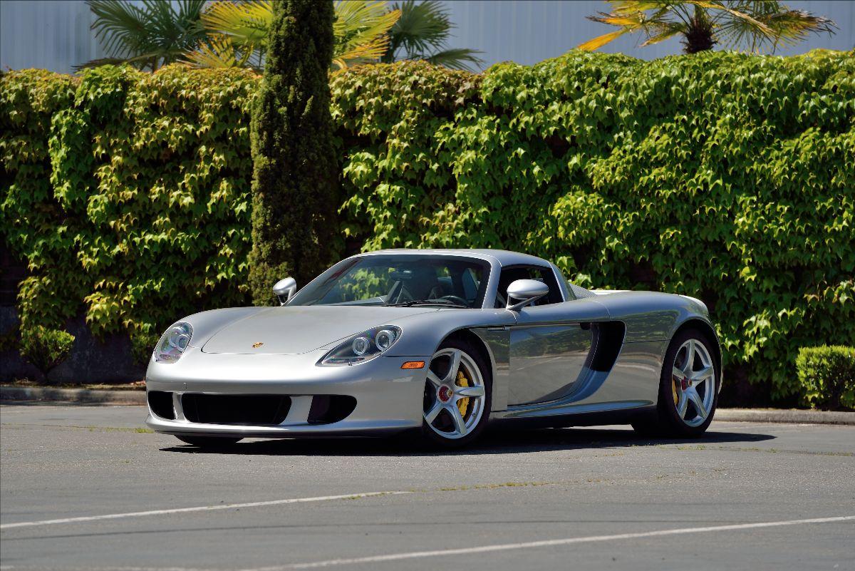 210306 2004 Porsche Carrera GT 5.7L:605 HP, 3,570 Miles