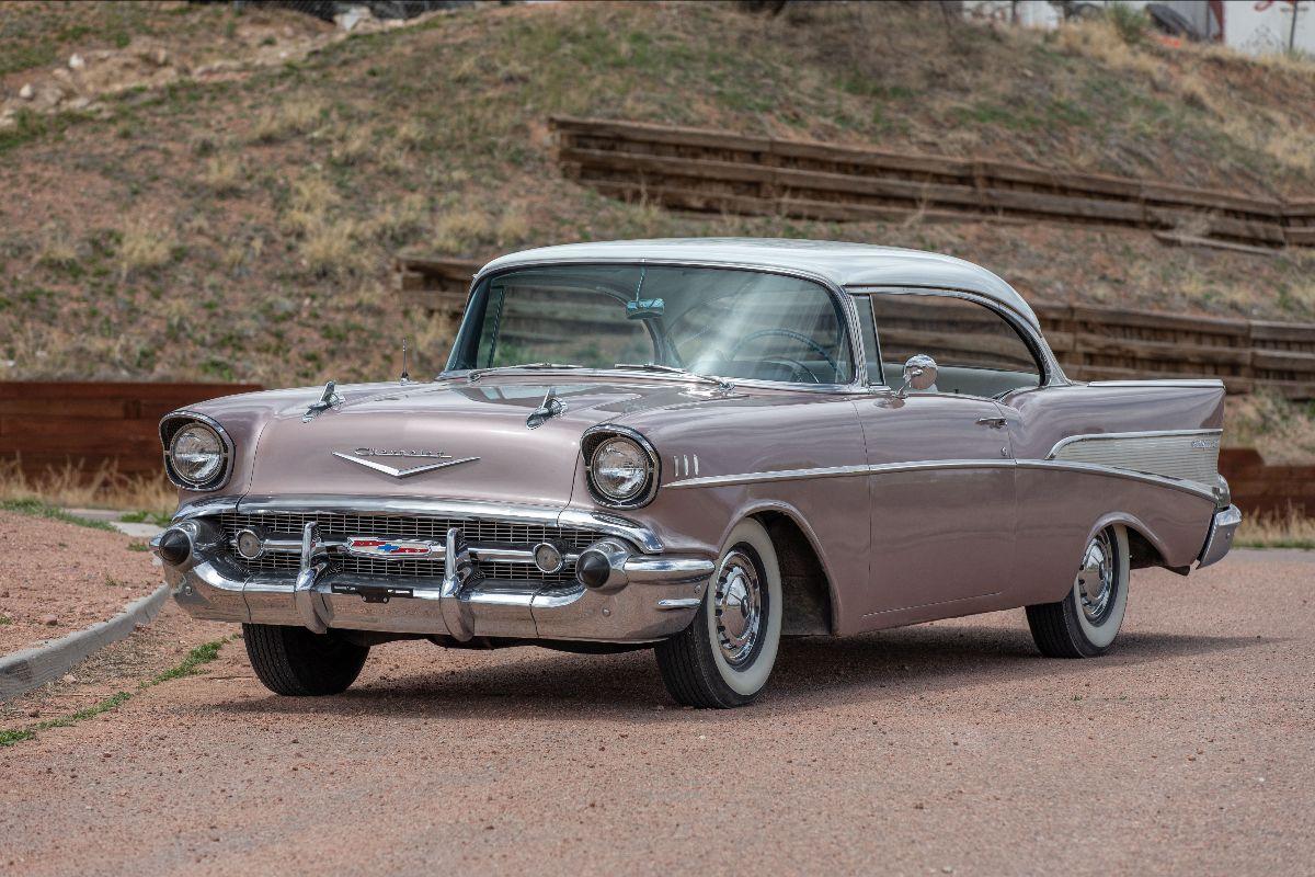 210601 1957 Chevrolet 210 283 CI, Automatic (Lot F183)