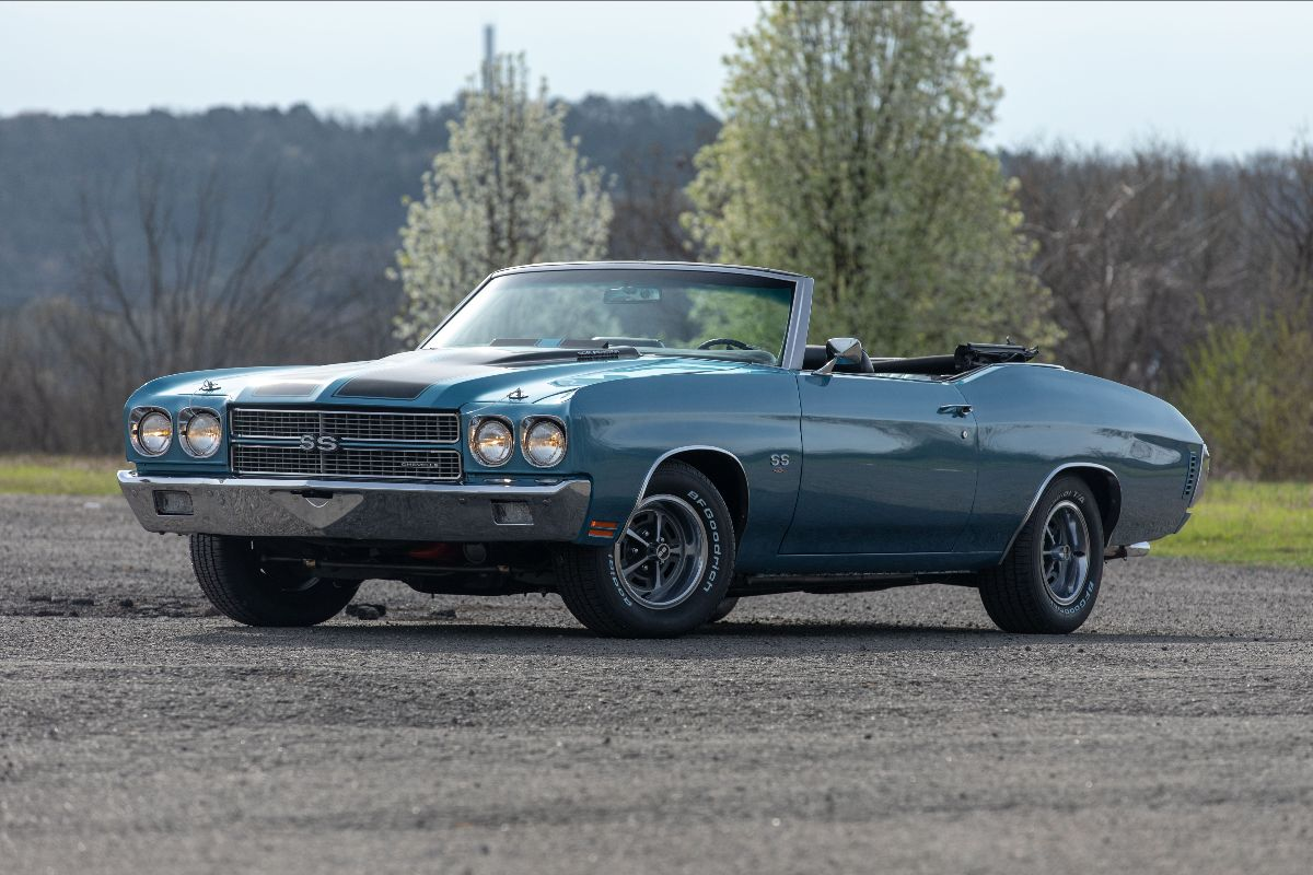 210601 1970 Chevrolet Chevelle Convertible 454 CI, 4-Speed (Lot S100)