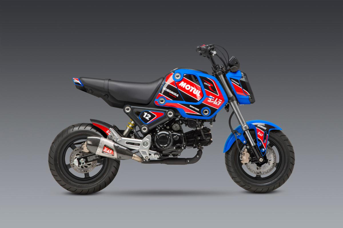 210602 2022 Grom Decal Kit - Race on Blue 2048