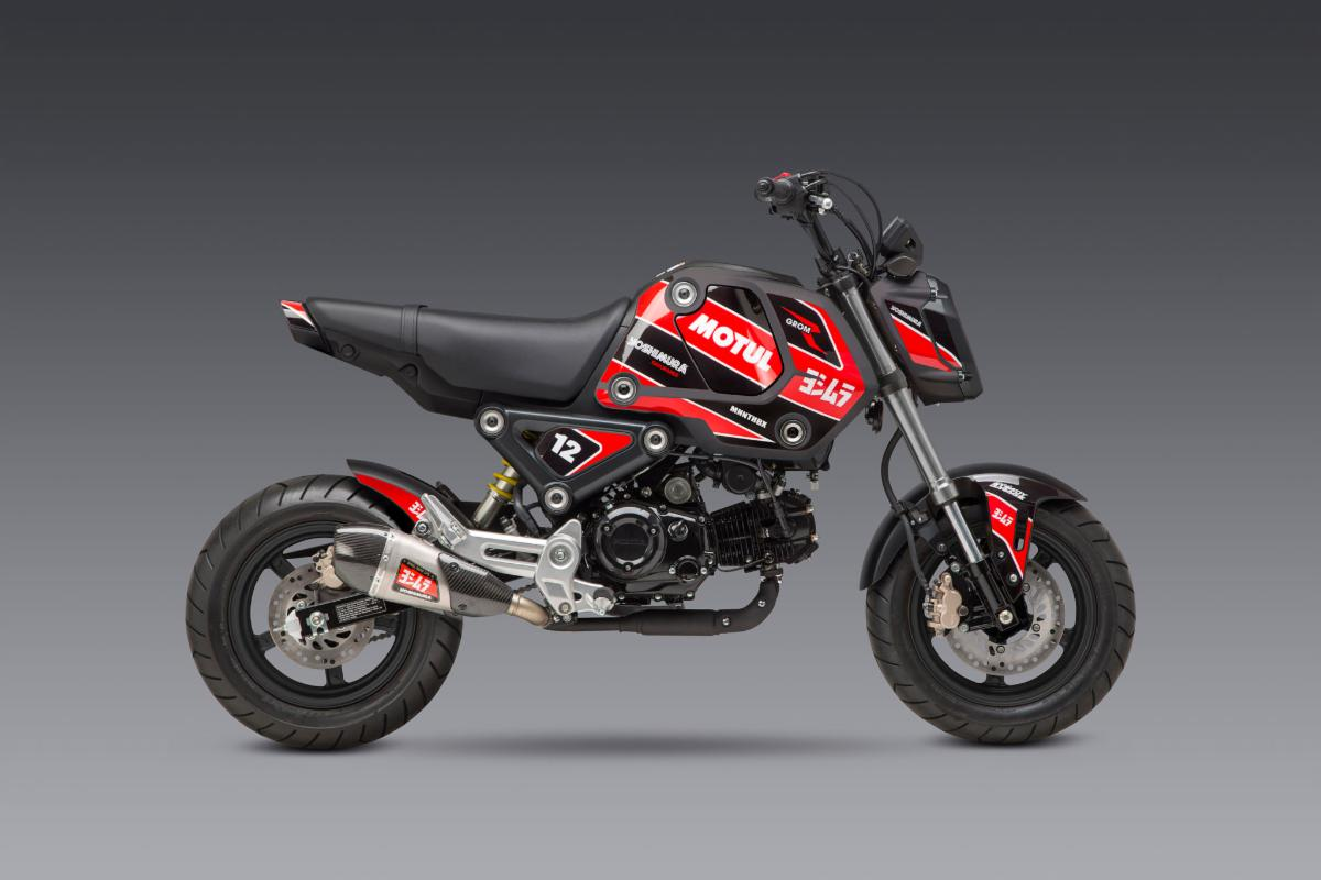210602 2022 Grom Decal Kit - Race on Graphite - 2048