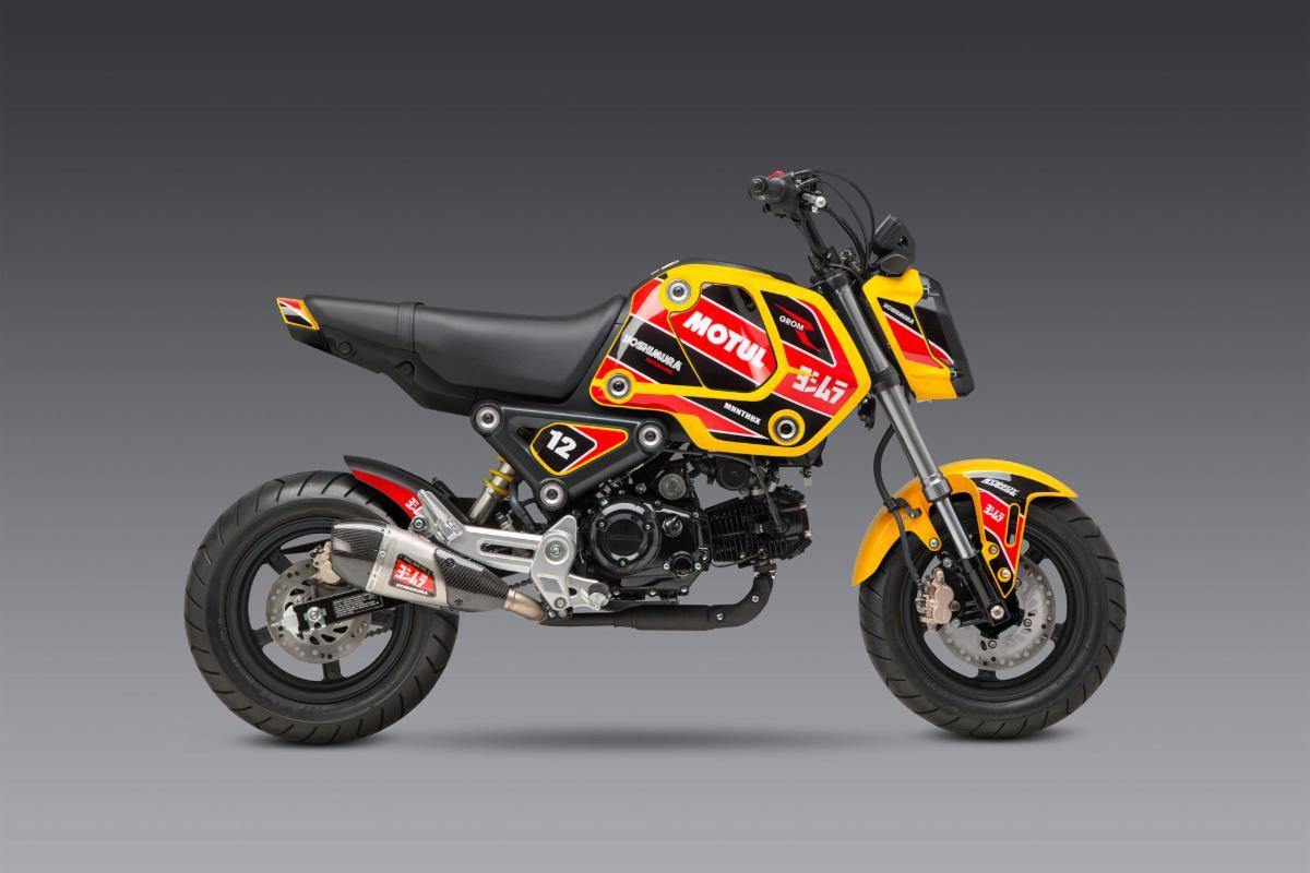 210602 2022 Grom Decal Kit - Race on Yellow 2048B