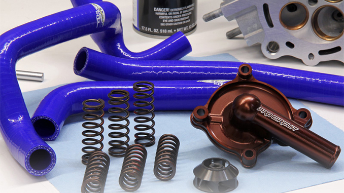210602 Pro Circuit CRF450R Clutch Springs and CRF250R Hose & Water Pump Kit (678)
