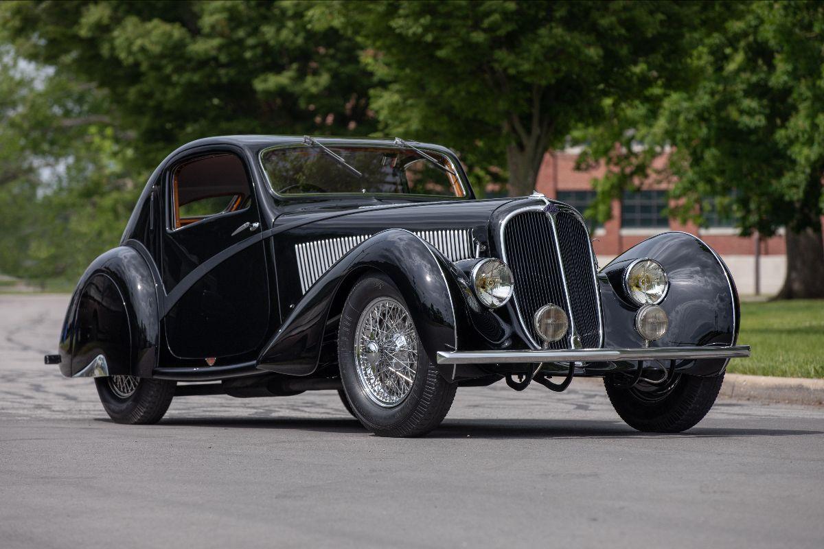 210603 1936 Delahaye Type 135 Competition Court Teardrop Coupe Coachwork by Figoni et Falaschi
