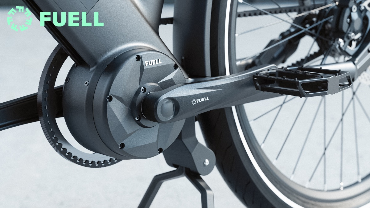210603 The Flluid-1S features a FUELL exclusive- Bofeili 500 W mid-drive motor with 100 Nm (74 ft-lbs) of torque