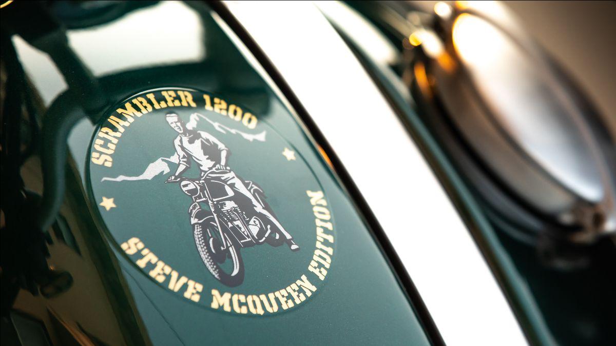 210608 2022 Triumph Scrambler 1200 Steve McQueen Edition Serial No. 0278, Proceeds to Benefit Boys Republic (4)