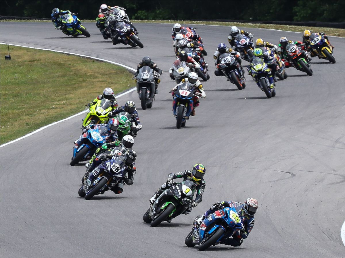 210610 Action in the Supersport class has been hot and heavy in the opening two rounds and it will likely be even closer at Road America this weekend