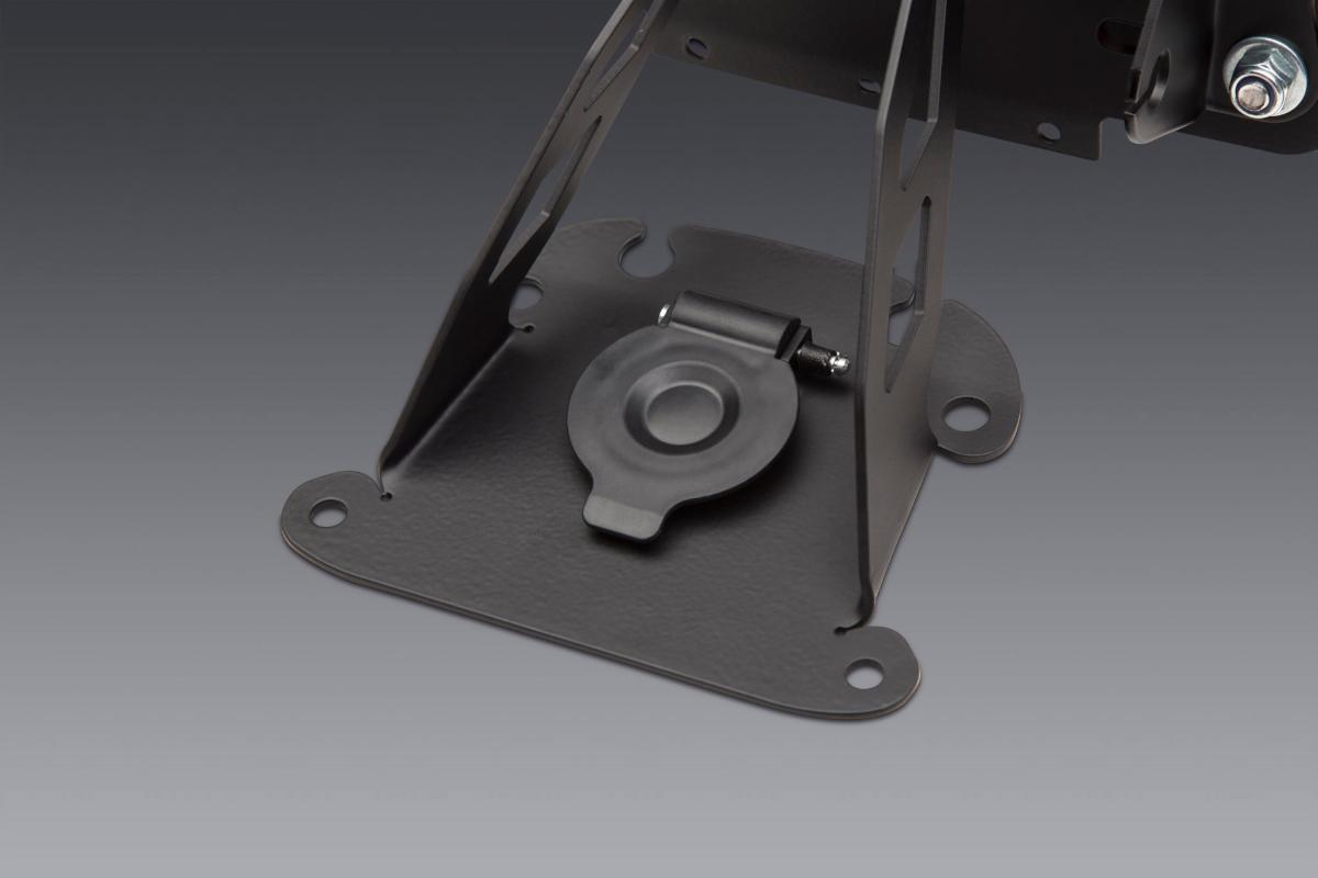 210610 Our new Fender Eliminator Kit uses the stock seat lock access cover to keep things clean and functional (3)