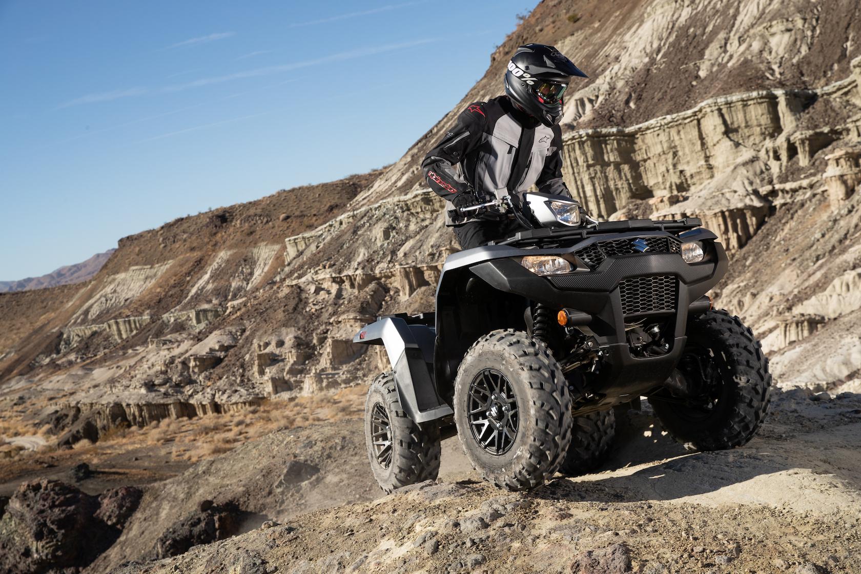 210610 Suzuki KingQuad action