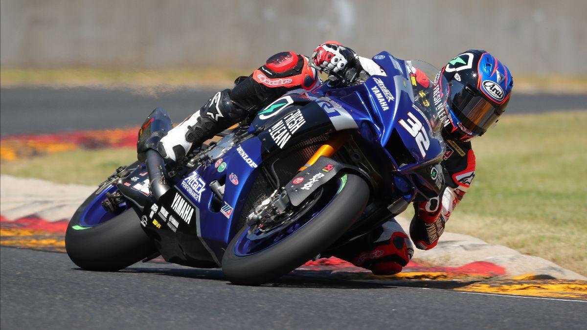210612 Jake Gagne put his Fresh N' Lean Attack Performance Yamaha on provisional pole