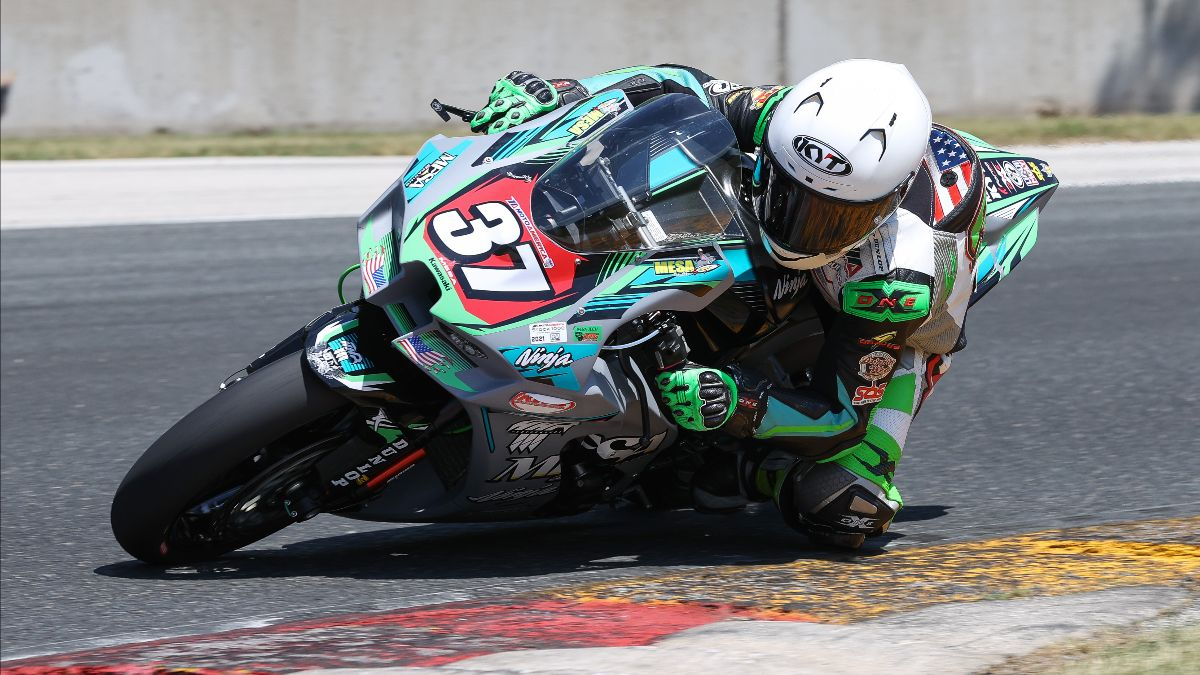 210612 Stefano Mesa was top dog in Q1 for Stock 1000 on Friday at Road America