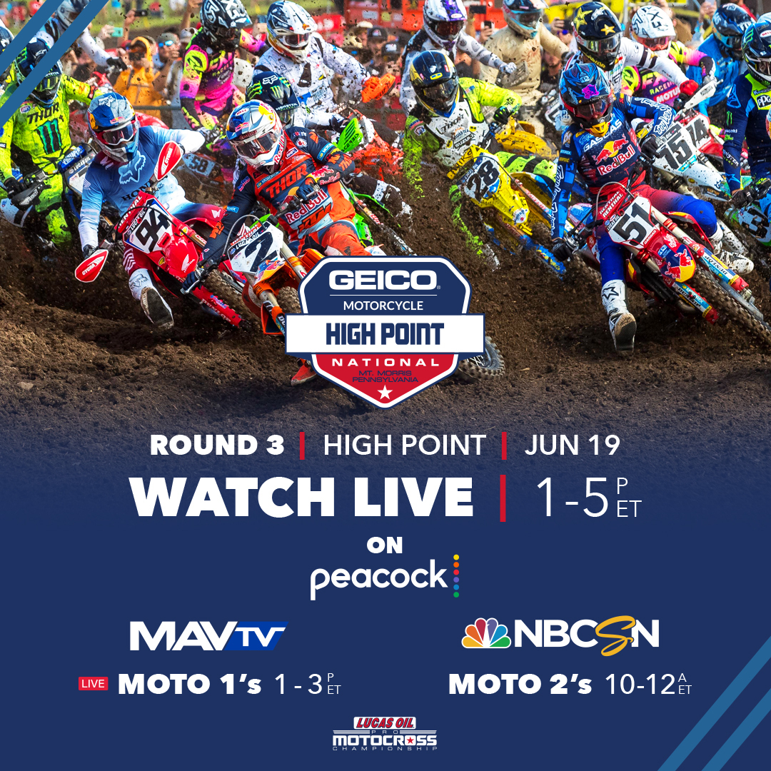 How to Watch- GEICO Motorcycle High Point National (2)