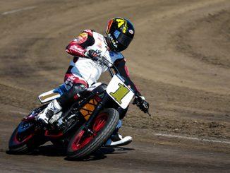 Indian Motorcycle Racing - Briar Bauman Chicago HM (678)