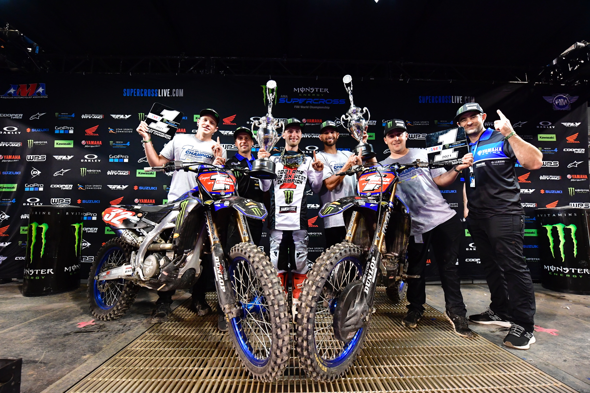 Star Racing 250SX East and West Champs 2021