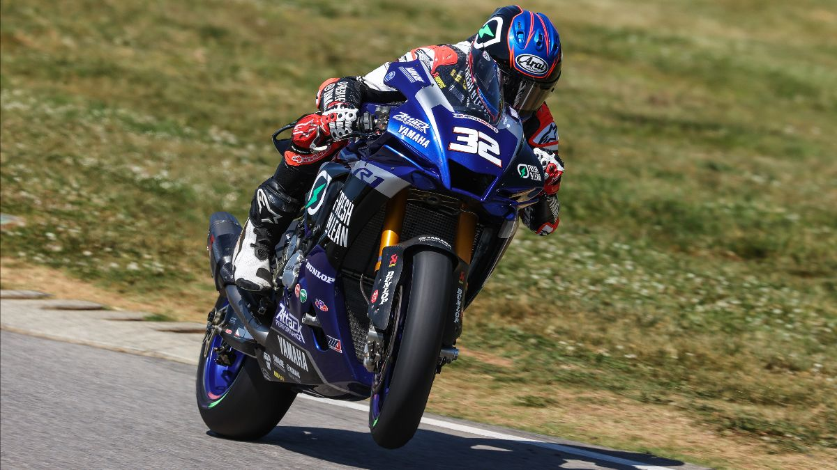 Those hoping to contend for the 2021 MotoAmerica Superbike Championship will be trying to stop Jake Gagne