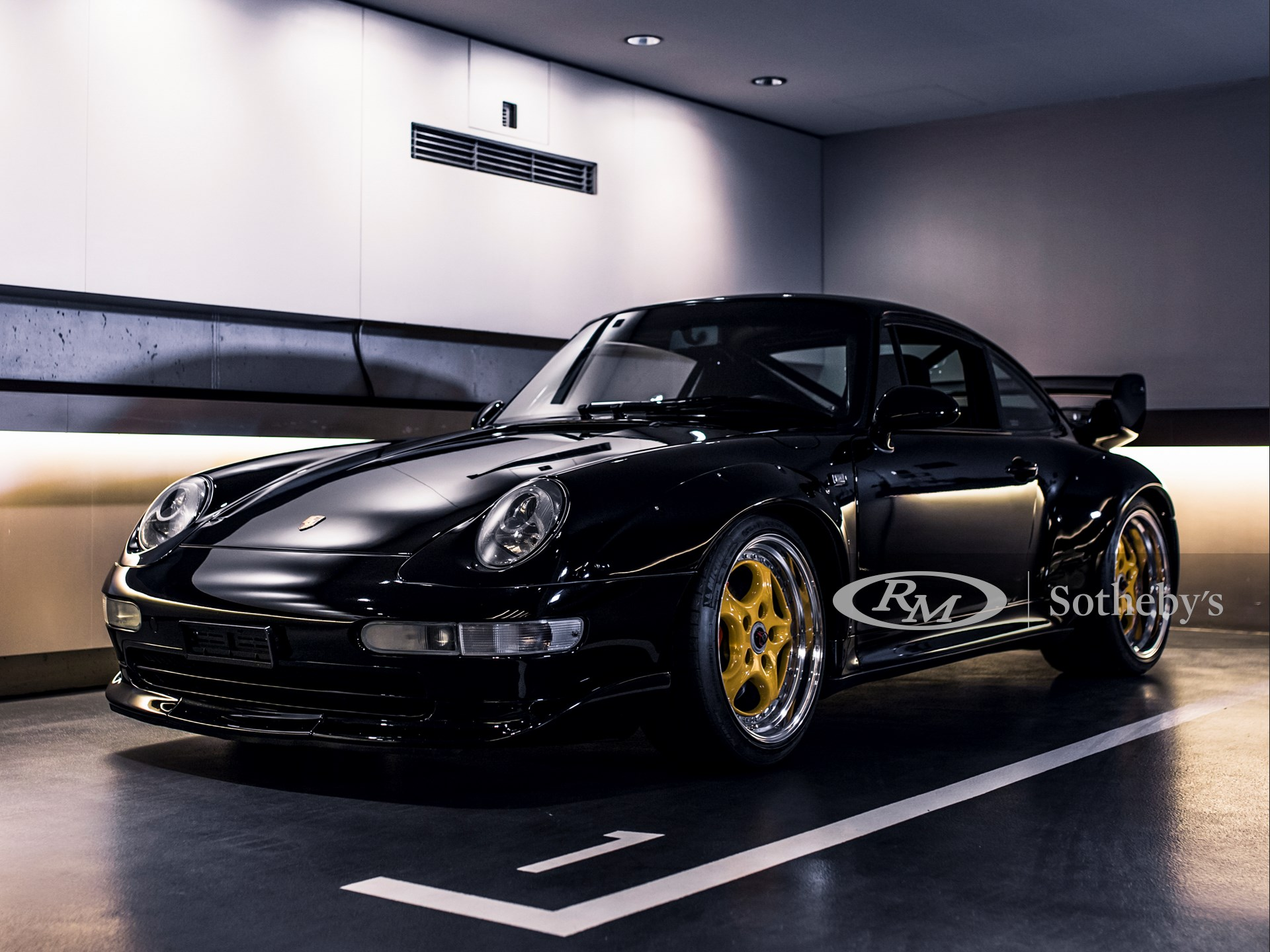 1996 Porsche 911 GT2 Clubsport Daniel Zizka ©2021 Courtesy of RM Sotheby's