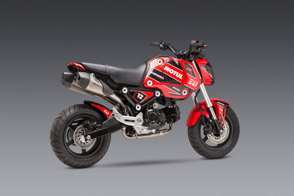 210701 2022 Honda Grom - RS-9T titanium dual exhaust is sure to be one that will go down in history (1)