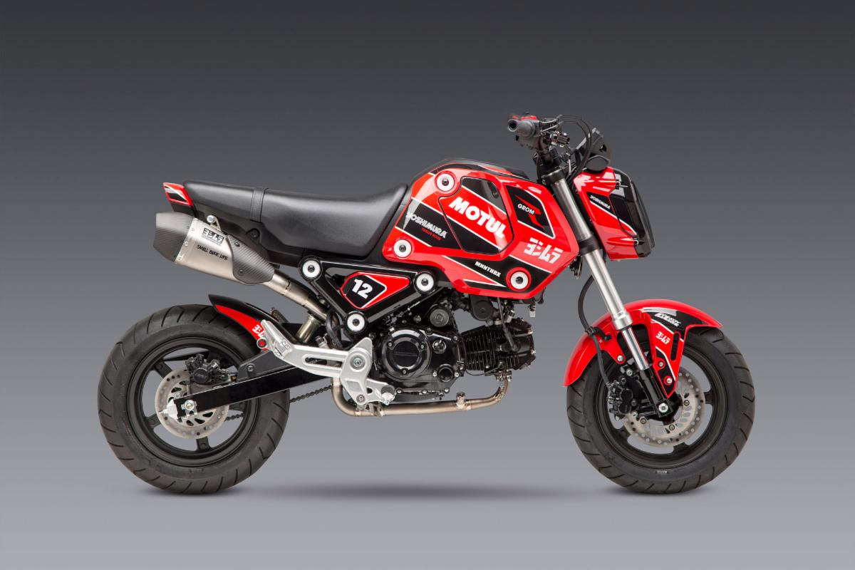 210701 2022 Honda Grom - RS-9T titanium dual exhaust is sure to be one that will go down in history (3)