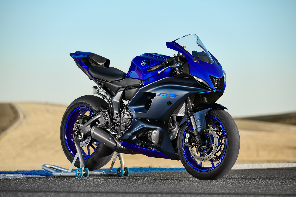 210702 Yamaha will be displaying its newest motorcycles, including the YZF-R7, during the 2021 MotoAmerica GEICO Motorcycle Superbike Speedfest at Monterey